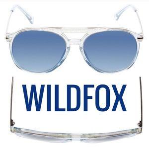 Wild fox Baroness Blue Cove Sunglasses